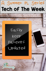 Teachers are insanely busy. One of the purposes of technology in the classroom should be to make our lives easier. In this post, I'll tell you how I simplify my life by fulfilling administrative obligations and keeping parents in the loop all at the same time with Google Slides. Click through to find out what I do!