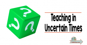 We're teaching in uncertain times. 2020 has been a pivotal year in education--hybrid learning, virtual learning. We don't know what to expect for the next or future school years. But we can do our best to be proactive. Join me for this five part series on Teaching in Uncertain Times. Let's take this leap together!