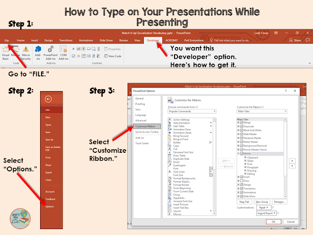 Did you know that you can type in present mode in PowerPoint? No? Well, you're in luck, because this post gives you a tutorial of how to do that! Click through to read the steps, look at graphics, AND watch a video showing you how to type in present mode in PowerPoint!