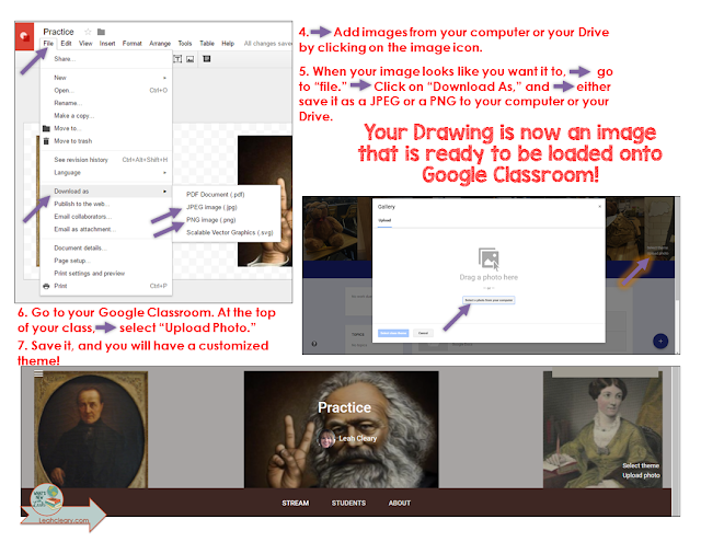 We're counting down to the end of the school year with spring tech tips, and Spring Tech Tip 3 is to customize your Google Classroom theme! Students can get bored with Google Classroom, but changing the header to pictures of your students working in class helps keep their attention! Click through to read this tutorial.