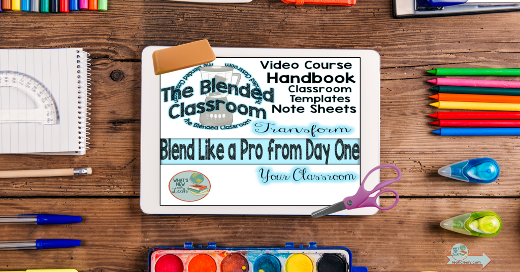 The Blended Classroom Course will help you transform you classroom and blend like a pro from day one. Effortlessly combine the current resources you love with edtech to take your classroom to the next level!