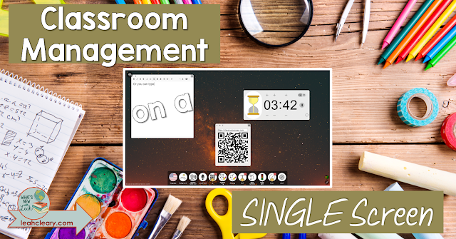 Classroom management can be made so much easier with technology, and thankfully, a teacher in the Netherlands made a tech tool to help simplify classroom management to a single screen! This post tells all about Classroom Screen and the many different ways it can be used for classroom management. Click through to read more!