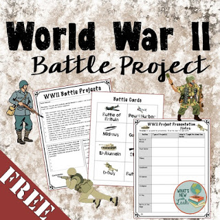 World War II Battle Project