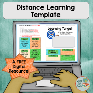 After about a week of virtual learning, I realized that I needed a distance learning template that would keep weekly lessons contained to one place. This is a free distance learning lesson plan template that will clarify and simplify distance learning for you and your students. Be sure to grab it here!