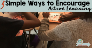Teachers sometimes can't avoid teaching using lecture or assigned readings in ELA or social studies classrooms, but class can still be engaging for students. This blog post shares three simple ways to encourage active learning. High school students will appreciate these activities that are hands-on and authentic! Click through to read the full post.