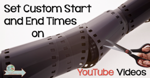 If you use YouTube video clips in your class, then you know how annoying it can be to start and stop at the right places in the video clip. No need to mess with that any longer! Spring Tech Tip 1 is all about how to set custom start and end times on YouTube videos! It couldn't be any easier, so click through to read how.