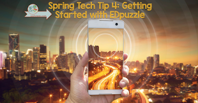 My fourth Spring Tech Tip is all about getting started with EDpuzzle, a free app that integrates with Google Classroom! With EDpuzzle, you can shorten clips, insert questions into the clips, and track whether students actually watch the clips. Click through to learn more and get a tutorial for setting it up!