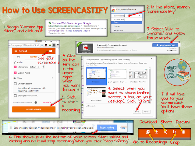 Have you heard of Screencastify? It's a simple app that allows you to flip your classroom! Technology has made it super easy for teachers to deliver content outside of the classroom, which is one use for Screencastify. However, you can also use during station rotations. The possibilities are endless!