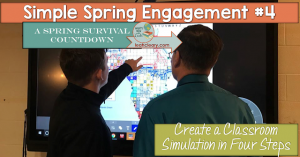 At the end of the year, teachers usually need some new ideas to freshen things up in the classroom. This blog post walks you through how to create a classroom simulation, which is a great activity for high school social studies classes. Click through to learn more about implementing class simulations in your secondary classroom!