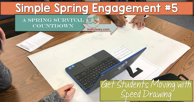 Every secondary teacher looks for ways to avoid lecture, and this speed drawing activity is a great replacement! Break your lesson up into centers and set out reading and butcher block paper at each one. Students rotate from center to center to read and speed draw! Click through to learn more about this high school social studies activity.