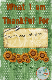 Although Thanksgiving often brings it about, we should take time to consider what we're thankful for many times throughout the year. What am I thankful for? Teachers Pay Teachers. During a rough time in our lives, Teachers Pay Teachers came through to help us get through that financial tough spot--and it involved me getting over my mindset that all teachers should share everything freely.
