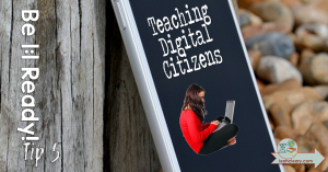 What have you taught your students about digital citizenship? There's a lot of groundwork that needs to be laid before we can jump right into a 1:1 classroom. Teachers can't assume that students know about copyright laws and plagiarism, and they also can't assume that students have been taught how to use the Internet safely. This post will help you get your classroom ready for 1:1 technology integration by giving you tips for teaching these important concepts.