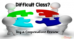 """Reviewing and studying are important skills in the classroom. As much as we love to use games to do those things, sometimes we have classes that just can't handle it. In those instances I recommend a collaborative review strategy called """"Make Your Own Test."""" Check out why I started using this and how I utilize it in my classroom."""